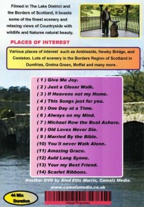 Scotland and the Lakes DVD Back